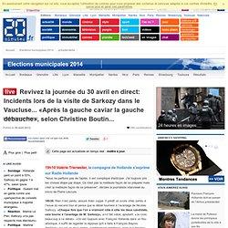 Présidentielle en direct: L'écart se resserre entre Sarkozy et Hollande dans un dernier sondage