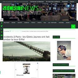 Incidents à Paris : les Gilets Jaunes ont fait tomber la tour Eiffel