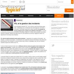 ITIL et la gestion des incidents informatiques