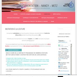 Incitation à la lecture – Actions CDI – Nancy – Metz