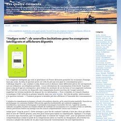 """""""Nudges verts"""" : de nouvelles incitations pour les compteurs intelligents et afficheurs déportés"""