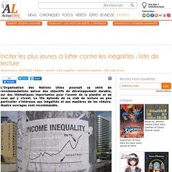 Inciter les plus jeunes à lutter contre les inégalités : liste de lecture