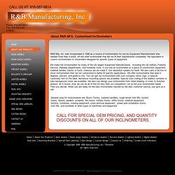 Inclinometer Manufacturer