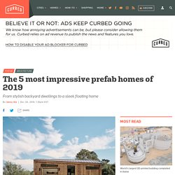 Best prefab homes of 2019 include ADU designs, floating house