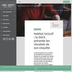 Habitat inclusif : la DGCS présente les résultats de son enquête - Nexem