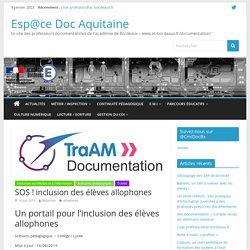 SOS ! inclusion des élèves allophones