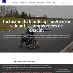 Inclusion du handicap : mettre en valeur les compétences de...