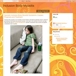 Inclusion Body Myositis: Sporadic Inclusion Body Myositis Symptoms, Causes, Prognosis and Treatment