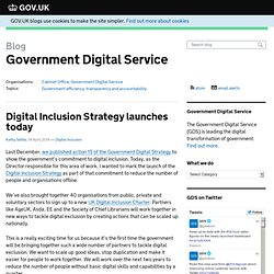 UK Govt's Digital Inclusion Strategy