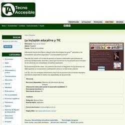 La inclusión educativa y TIC