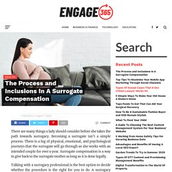 The Process and Inclusions In A Surrogate Compensation