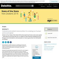 State of the State 2018: Inclusive and resilient communities