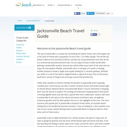 All Inclusive Jacksonville Beach Resorts & Hotels: Jacksonville Beach Luxury Hotels