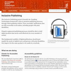 Inclusive Publishing