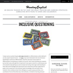 Inclusive Questioning