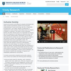 Inclusive Society - Trinity Research