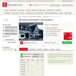 Autovakantie Duitsland / Sauerland - Haus Keuthen - KRAS