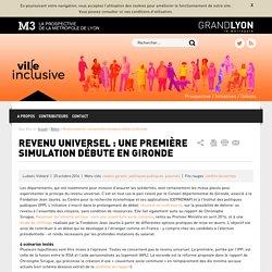 Ville inclusive - Revenu universel : une première simulation débute en Gironde