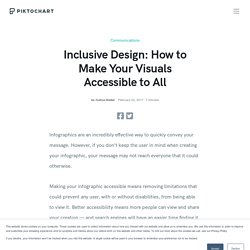 Inclusive Design: How to Make Your Visuals Accessible to All