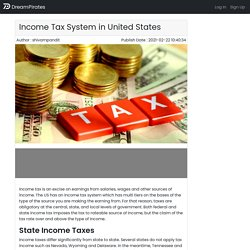 Income Tax System in United States