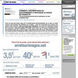 Comment l'incompétence du gouvernement a provoqué le fiasco de france.fr