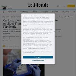 Covid-19 : les données incomplètes de Santé publique France compliquent le suivi de l'épidémie