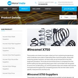 Inconel X750 Price ,UNS N07750 Suppliers, Alloy x750 Spring