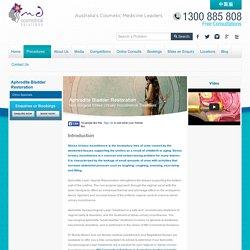 New Aphrodite Vaginal Laxity & Weak Bladder Laser Treatment Sydney