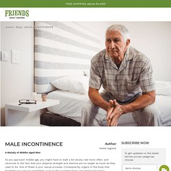 Male Incontinence: Urinary Problem in Middle-Aged Men