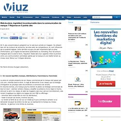Web-to-store, ingrédient incontournable dans la communication de marque ? Réponse en 5 points clés