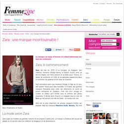Zara : une marque incontournable ! - Femmezine