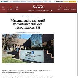 Réseaux sociaux: l'outil incontournable des responsables RH