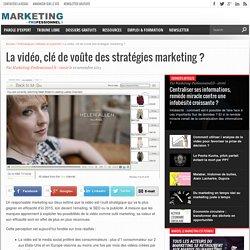 La vidéo, incontournable dans les stratégies marketing