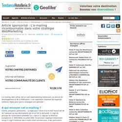 L'e-mailing incontournable dans votre stratégie WebMarketing
