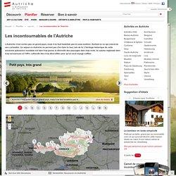 Les incontournables de l'Autriche - Vacances, voyage et séjour en Autriche : Le site officiel de l'Office National Autrichien du Tourisme.