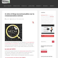 11 sites et blogs incontournables sur la communication interne