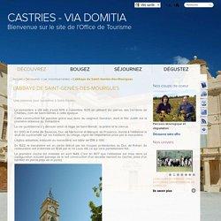 L'abbaye de Saint-Geniès-des-Mourgues / Les incontournables / Découvrez / Castries - Via Domitia