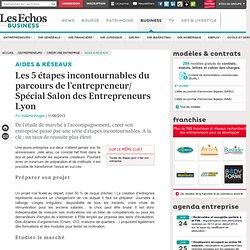 Les 5 étapes incontournables du parcours de l'entrepreneur/ Spécial Salon des Entrepreneurs Lyon