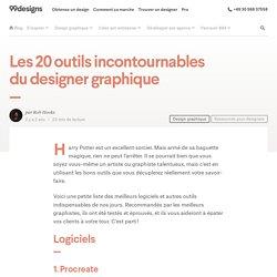 Les 20 outils incontournables du designer graphique
