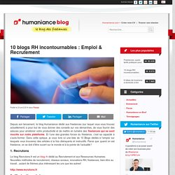 10 blogs RH incontournables : Emploi & Recrutement