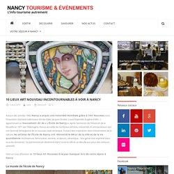10 lieux Art Nouveau incontournables à voir à Nancy - Nancy Tourisme Info