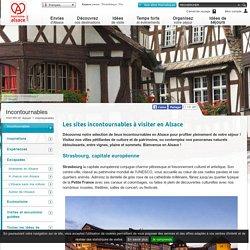 Les sites incontournables à visiter en Alsace