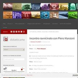 Incontro ravvicinato con Piero Manzoni