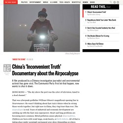 China's 'Inconvenient Truth' Documentary about the Airpocalypse