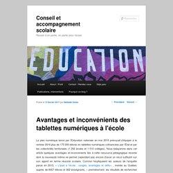 Avantages et inconvénients des tablettes numériques à l'école