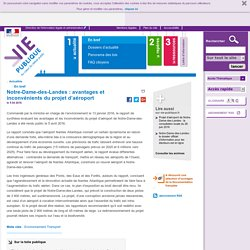 Notre-Dame-des-Landes : avantages et inconvénients du projet d'aéroport, Nantes Atlantique. En bref - Actualités