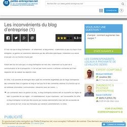 Les inconvénients du blog d'entreprise (1)