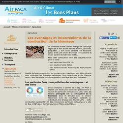 Les avantages et inconvénients de la combustion de la biomasse - Air PACA air et climat, bons plans pour agir