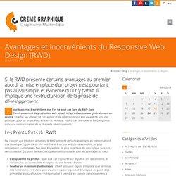 Avantages et inconvénients du Responsive Web Design (RWD) Crème Graphique, création sites Web et outils communication, Poitiers