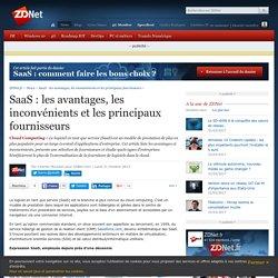SaaS : les avantages, les inconvénients et les principaux fournisseurs - ZDNet